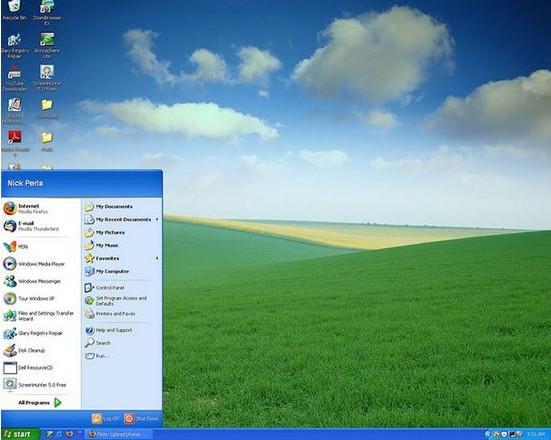 windows xp自带桌面